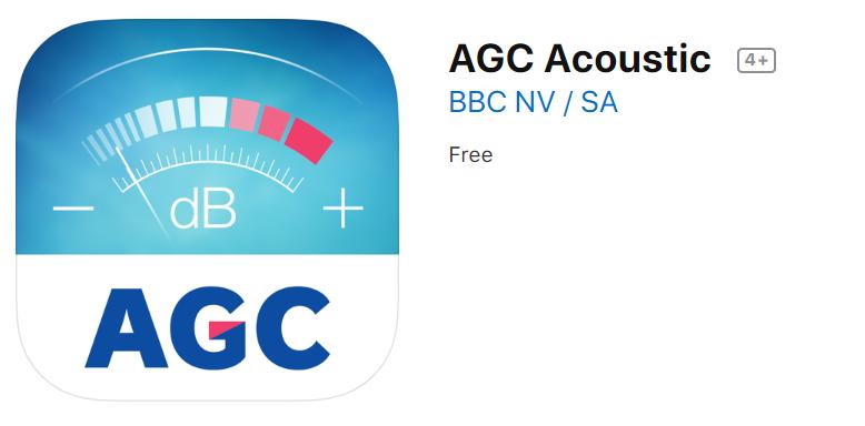 AGC aplikace na akustiku